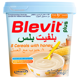 Blevit plus 8 Cereals with Honey