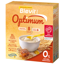 Blevit plus Optimum 8 Cereales con Miel